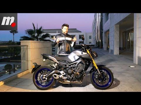 Yamaha MT-09 SP | Presentación / Primera Prueba / Test / Review en español | motos.net