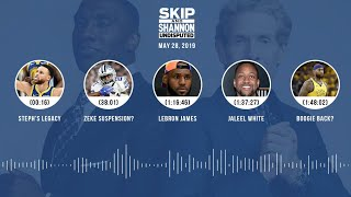 UNDISPUTED Audio Podcast (5.28.19) with Skip Bayless, Shannon Sharpe & Jenny Taft | UNDISPUTED