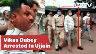 """I am Vikas Dubey,"" gangster shouted at temple before arre.."