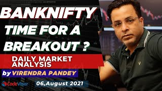 NIFTY ANALYSIS & BANKNIFTY ANALYSIS FOR 06 AUGUST - NIFTY PREDICTION FOR TOMORROW   CODEVISER
