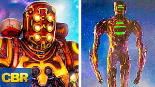 A First Look At The Celestials In Marvel's The Eternals