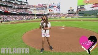 National Anthem - Angelica Hale | Los Angeles Dodgers vs Atlanta Braves
