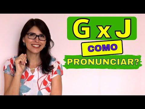 G x J COMO PRONUNCIAR?