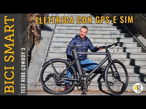 BICI ELETTRICA con ANTIFURTO GPS, SIM e  …