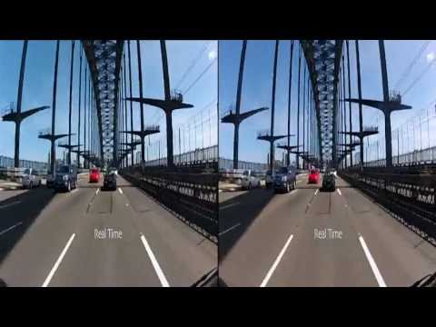 GoPro 3D Hero2 120 Fps vs real time comparison