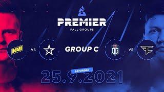 BLAST Premier Fall Groups: NAVI vs. Complexity, OG vs. FaZe | Group C, Day 2