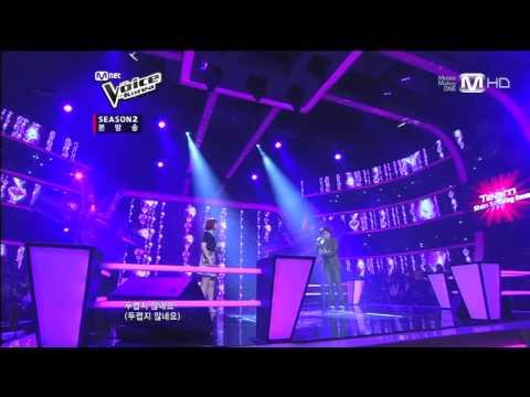 보이스코리아 시즌2 - [Mnet 보이스코리아2 Ep.6] 김민지vs박의성 - I'm in love