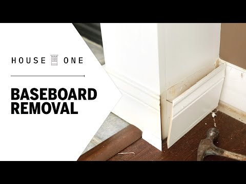 How to Remove Baseboards   House One   This Old House photo