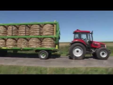 Przyczepa rolnicza Pronar T028KM