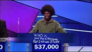 Best Final Jeopardy answer EVER!