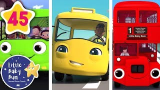 EVERY Wheels On The Bus Song 🚌 | NEW Little Baby Bum | Learning Nursery Rhymes for Kids