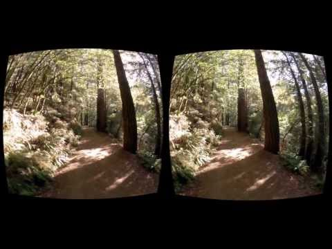 Oculus Rift 3D FPV Quadcopter - Redwood Trail