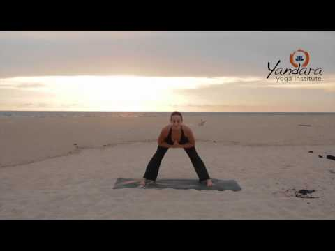Prasarita Padottanasana | Wide-legged Forward Bend by Allison Eaton