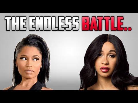 Nicki Minaj Vs. Cardi B: The Endless Battle