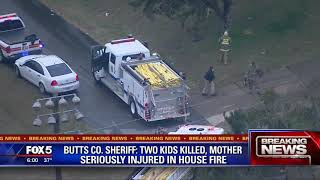 Two kids killed in house fire