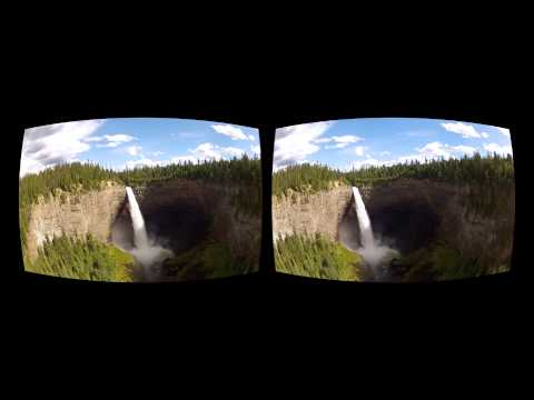 Oculus Rift 3D GoPro movie - Canada 10 Helmcken Falls