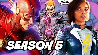 The Flash Season 5 Nora Allen Mistake and Tornado Twins Scene Explained