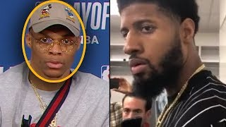 """Paul George Calls Out Russell Westbrook""""I SEE WHY KD LEFT"""" & Westbrook CONFRONTS GEORGE"""