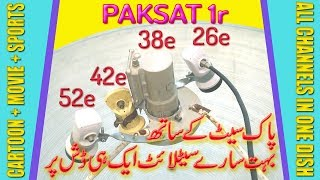 Paksat 38 E Complete Dish Setting and Channel List - How To