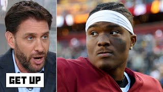 Greeny rips the Redskins for ruining Dwayne Haskins' career already   Get Up