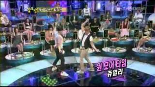 [100817] 2PM Chansung & Junho Girl Group Dance Parody xD