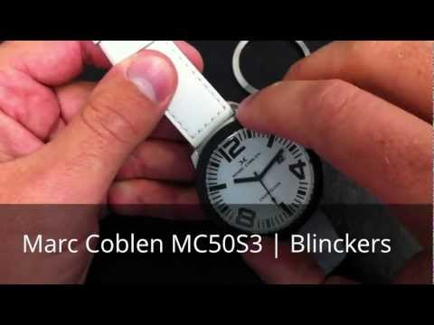 Horloge productvideo Marc Coblen MC50S3 | Blinckers.com