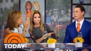 KLG And Hoda Play 'Celeb Swipe' With John Cena | TODAY