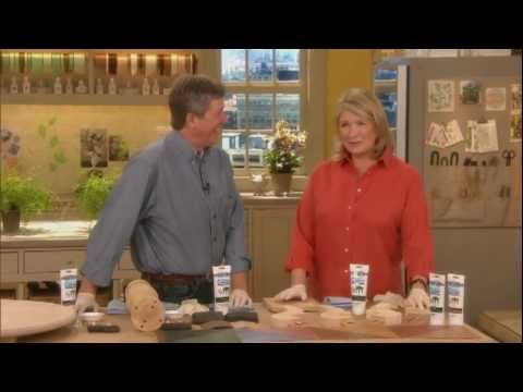 Easy Wood Staining Tips From Martha Stewart And Bruce