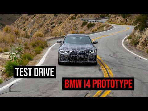 We drove a BMW i4 Prototype | Technical Specs | 4K