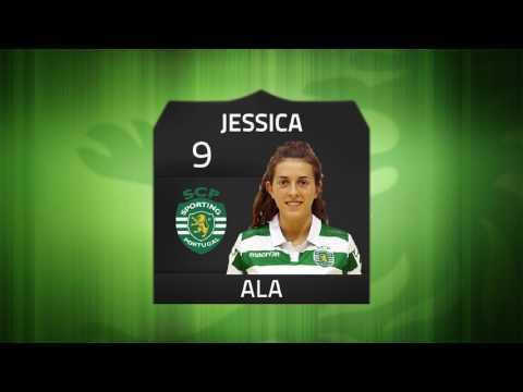 16/17 Resumo/Golos Jornada 9 - Campeonato Nacional Feminino - Louriçal 1 x 3 Sporting CP
