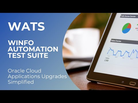 Best Oracle EBS Test Automation Tools | Automate Application Testing | winfo