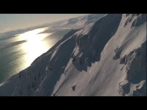 Heliskiing in Iceland with Arctic Heli Skiing