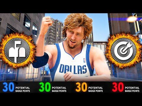 BEST DIRK NOWITZKI BUILD ON NBA 2K21 NEXT GEN! BEST 3 LEVEL SCORER POWER FORWARD ON NBA 2K21!