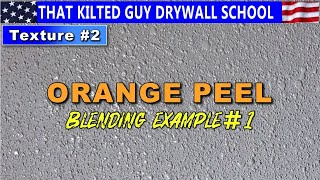 Learn The 6 Secrets to Match Orange Peel Drywall Texture PERFECTLY