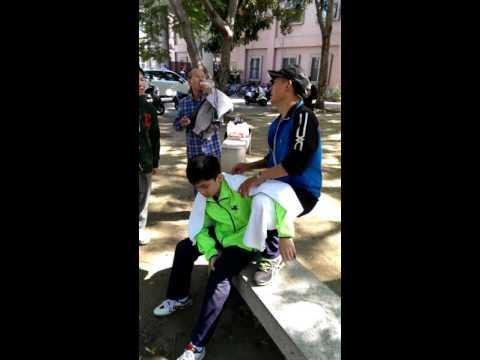 神童林昀儒與大陸教練綦戈