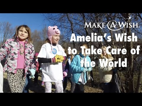 Amelia's Wish to Take Care of the World