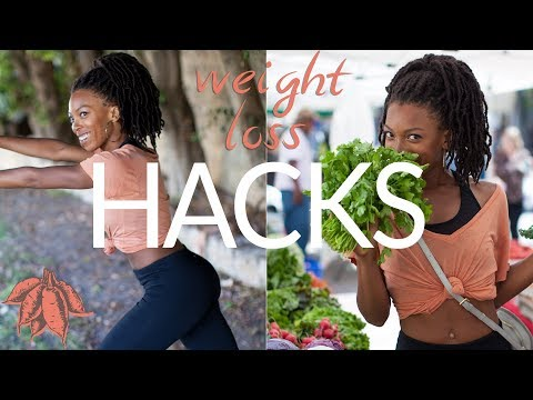 Vegan Weight Loss Hacks | Drop it like it's hot 🔥💃🏾