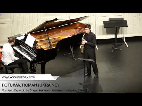 Dinant 2014 - Fotuima, Roman - Concerto Capriccio by Gregori Markovich Kalinkovich