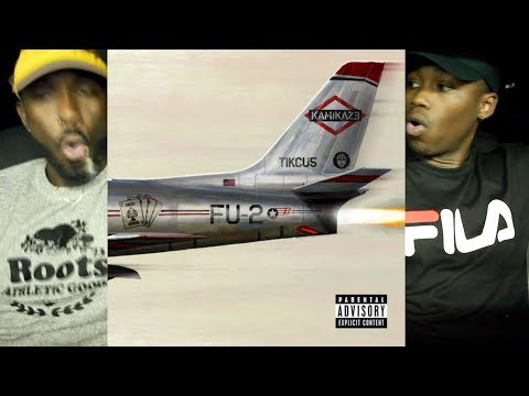 Eminem - Kamikaze FIRST REACTION/REVIEW