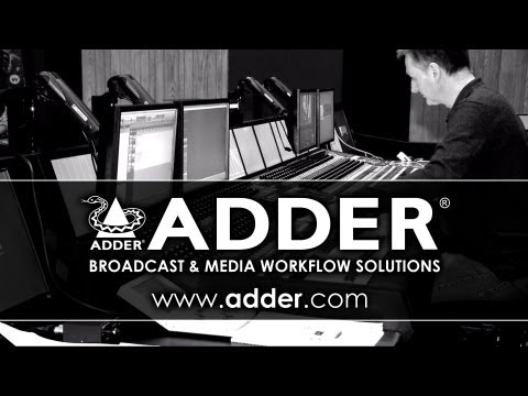 AdderLink Infinity at Twickenham Studios