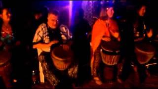 Chris Sylla - 2014 Nansady Keita workshop in Gambia. Sanyang Festival Performance