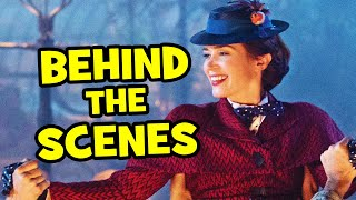 Behind The Scenes on MARY POPPINS RETURNS - Movie B-Roll, Clips & Bloopers