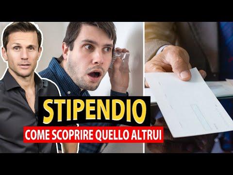 Come SCOPRIRE lo STIPENDIO di una persona? | Avv. Angelo Greco