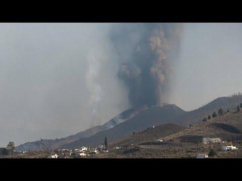 Hamufelhő borítja La Palma nagy részét