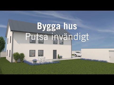 Bygga hus – Putsa invändigt