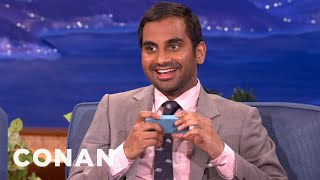 Aziz Ansari's Adventures With Geraldo Rivera - CONAN on TBS