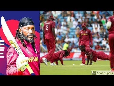Chris Gayle Epic pushup Celebration |Westindies vs afghanistan |Worldcup 2019 | Afg vs Wi highlights