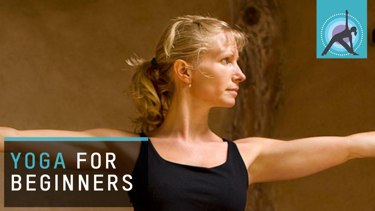 beginner at home yoga