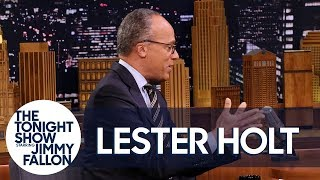 Lester Holt on the Upcoming Winter Olympics and His Recent Trip to North Korea
