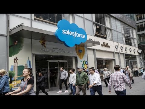 Salesforce to buy Tableau software in stock deal